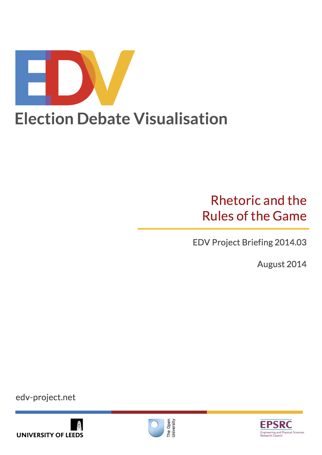 EDV briefing 2014.03